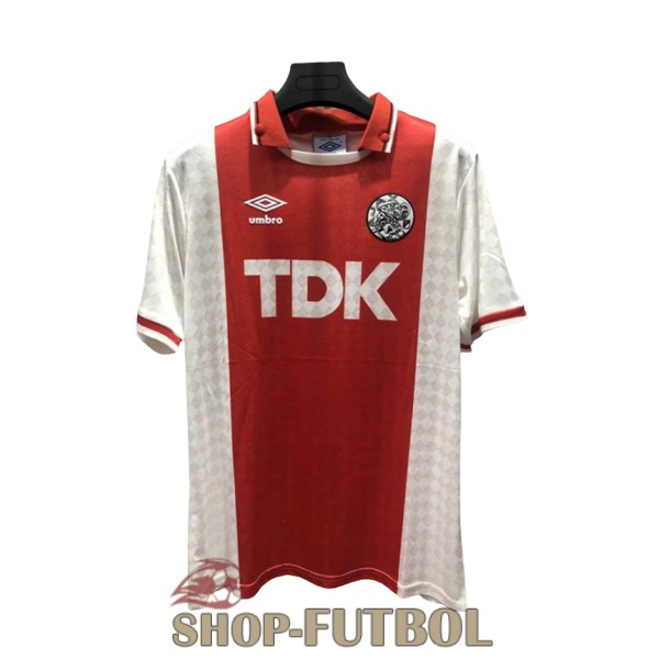 camiseta ajax retro 1988-1990 primera