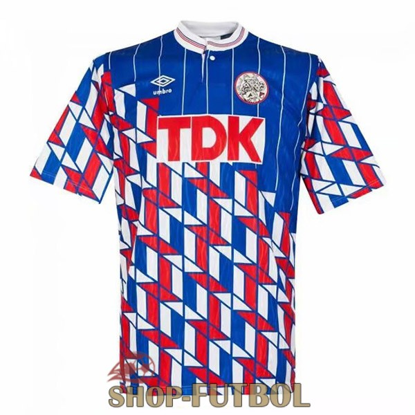 camiseta ajax retro 1989 segunda
