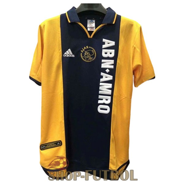 camiseta ajax retro 2000-2001 segunda