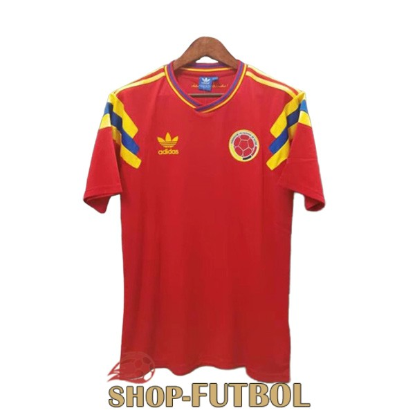 camiseta colombia retro 1990 primera