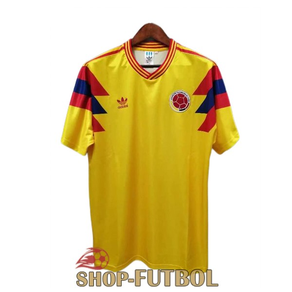 camiseta colombia retro 1990 segunda