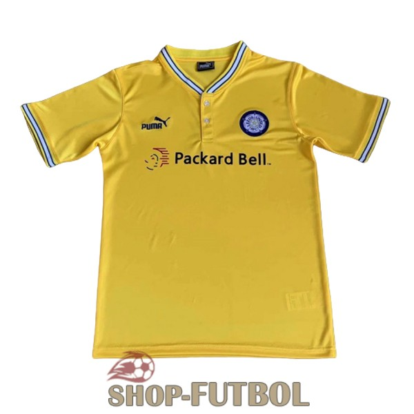 camiseta leeds united retro 1996-1998 segunda