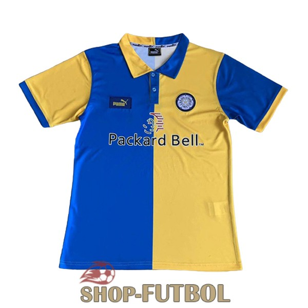 camiseta leeds united retro 1997-1999 primera