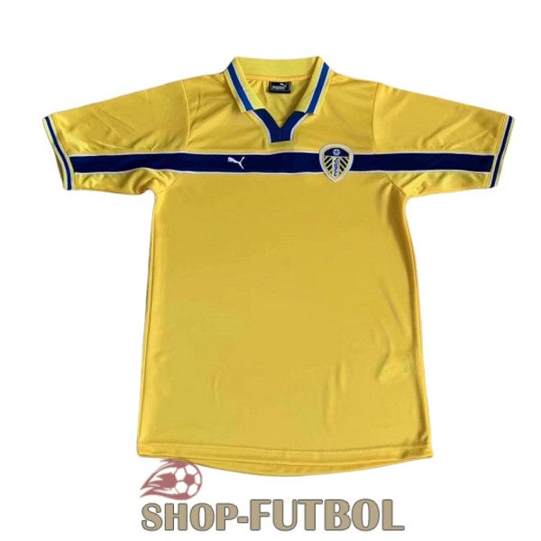 camiseta leeds united retro 1999 tercera