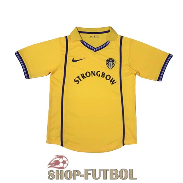 camiseta leeds united retro 2000-2002 segunda