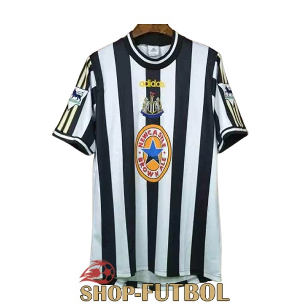 camiseta newcastle united retro 1997-1999 primera