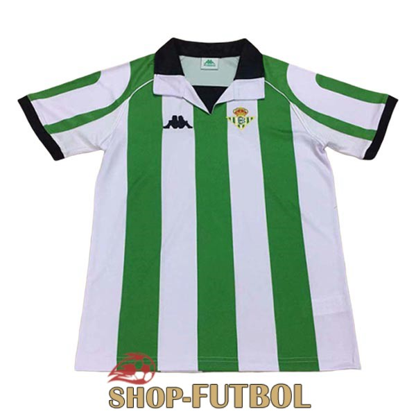 camiseta real betis retro 1998 primera